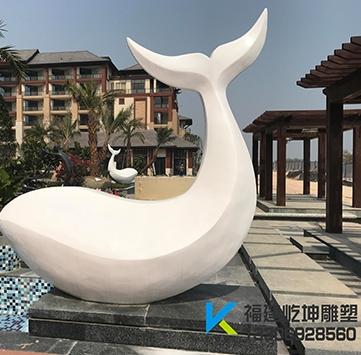 厦门万豪酒店特色鱼雕塑