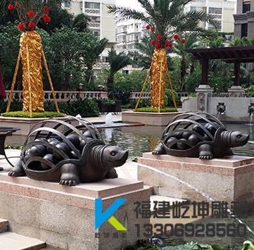 御品世家乌龟雕塑