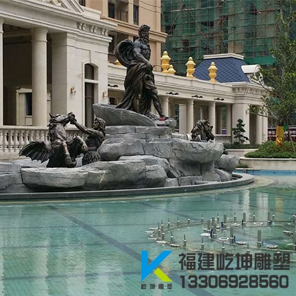福州玻璃钢雕塑