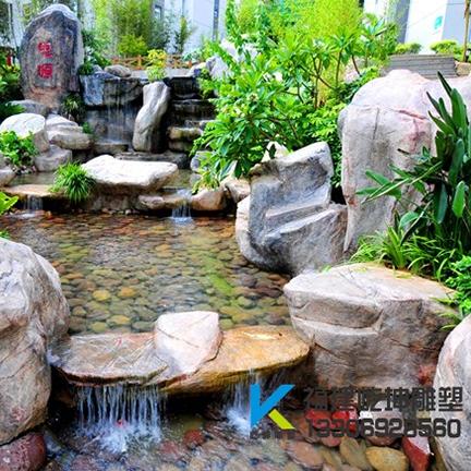漳州庭院假山景观