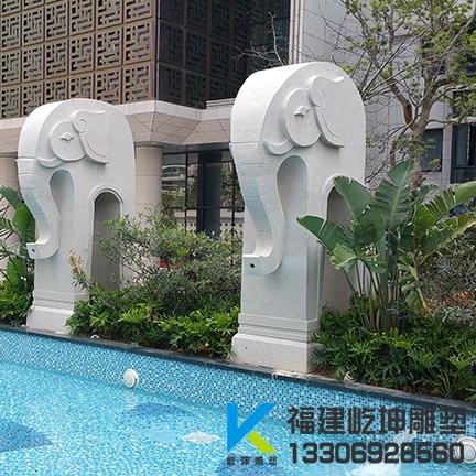 福建石材雕塑