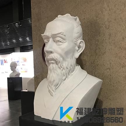 福建石雕头像