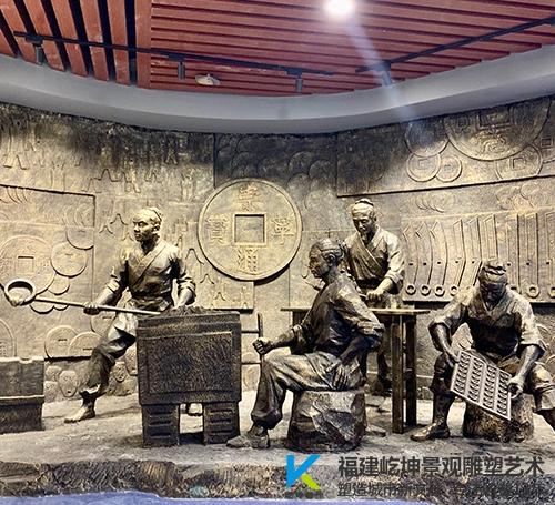 漳州玻璃钢人物雕塑