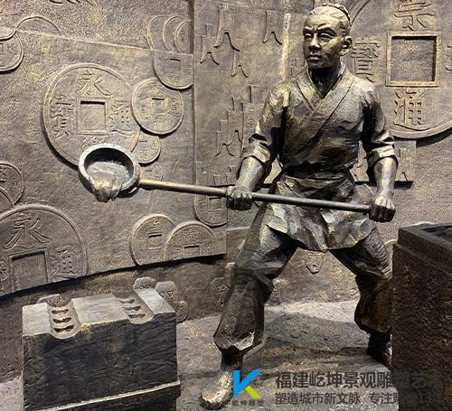 漳州人物玻璃钢雕塑定制